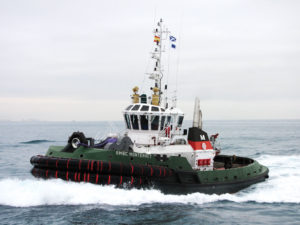 Cortland Plasma® winch line on tug