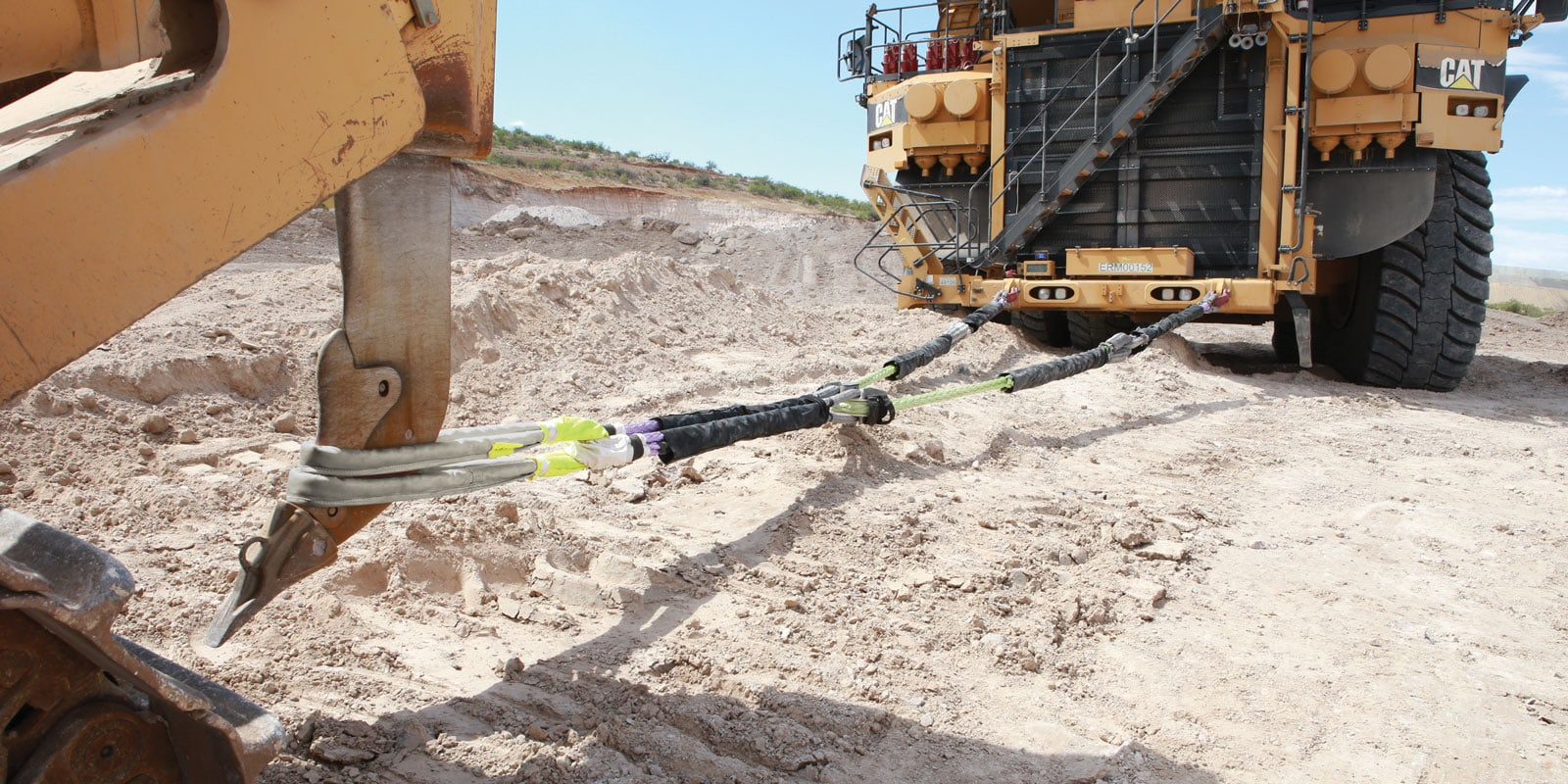Cortland synthetic rope recovery system in action