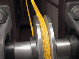 BOB® 12x12 rope designed for bend over sheave applications