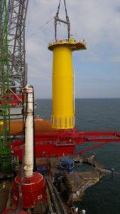 Custom Cortland Selantic®lifting slings used offshore