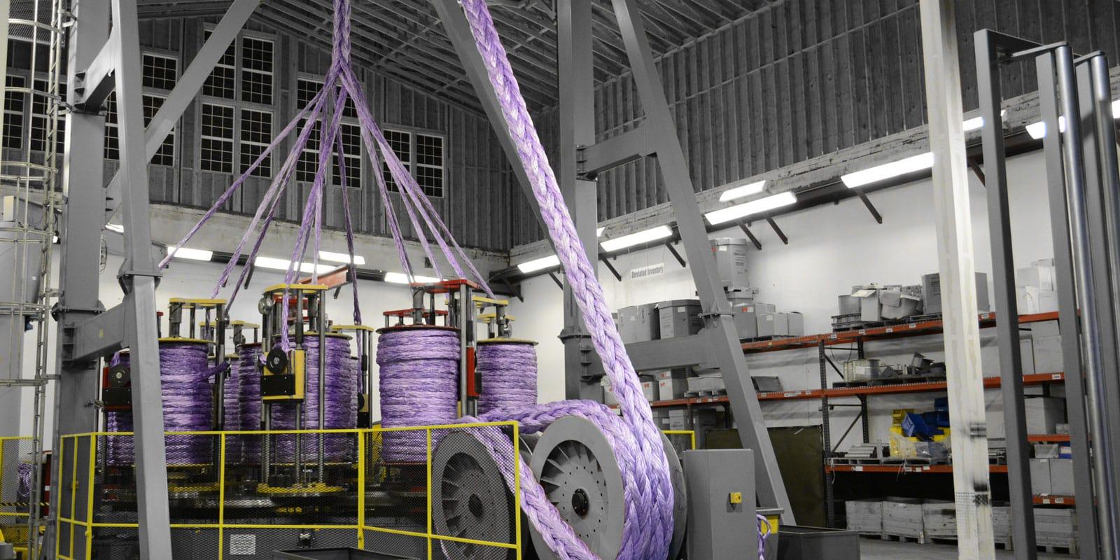 Braiding Plasma® 12x12 rope