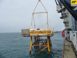 Cortland Selantic® slings used in decommissioning project