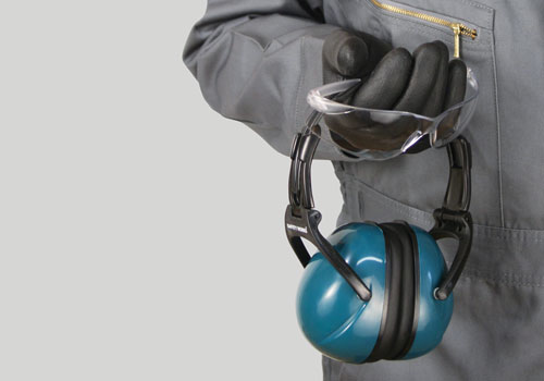 An example of safety equipment used to maintain an incident-free workplace