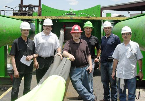 Sling inspection team